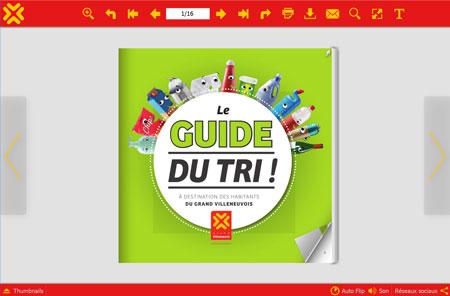 Le Guide du tri en Villeneuvois