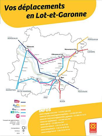 Vos déplacements en Lot et Garonne