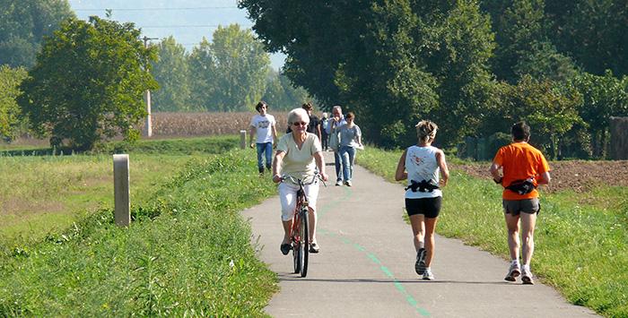 La voie verte en Villeneuvois