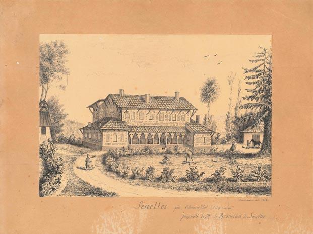 Le domaine de Senelles, dit « la maison aux assiettes » - Bias