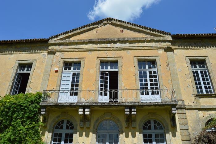 Le château de Lamothe - Villeneuve-sur-Lot
