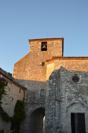 La collégiale Saint-Nicolas - Pujols