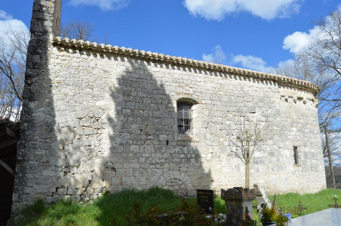 Lâ??église Saint-Thomas - Hautefage-La-Tour