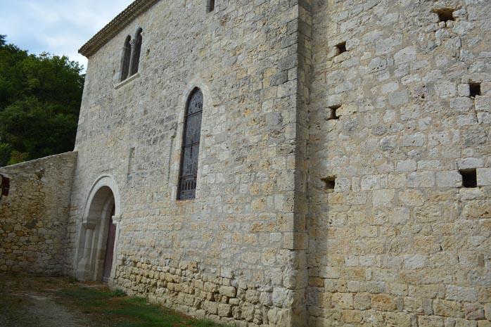 Lâ??église Saint-Just - Hautefage-La-Tour