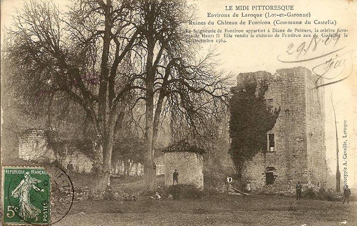 Le château de Fontirou - Castella