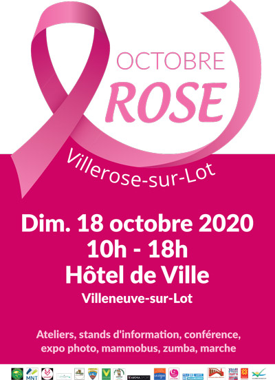 Octobre rose à Villeneuve-sur-Lot