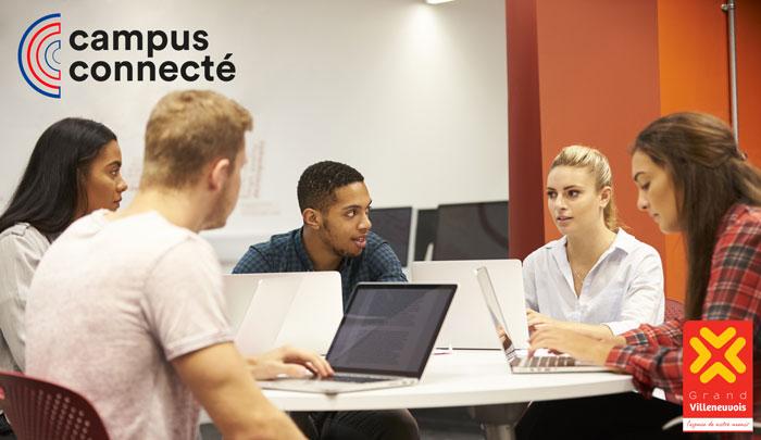 Campus connecté : le Grand Villeneuvois lauréat