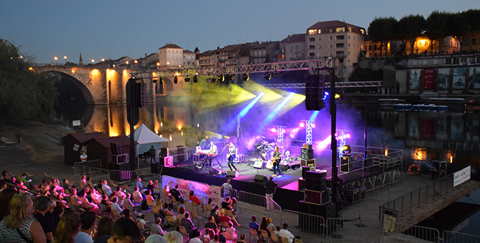 Concert de la calle à Villeneuve-sur-Lot