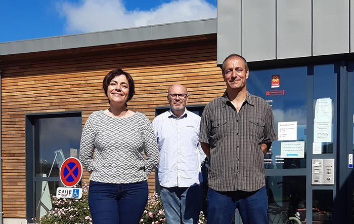 Malika Messaoudi-Loubet travaille aux côtés de JoÃ«l Ponsolle, DGA de lâ??Agglo et Paul Lourenço, coordinateur Territorial de Santé.