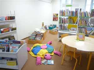 coin  petite enfance et bébé lecteur : albums cartonnés à partir de 6 mois, enfantines, 1ers documentaires,  berceuses...