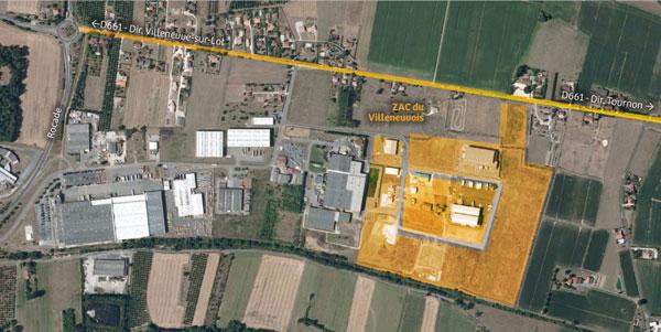Zac du Villeneuvois
